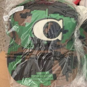 Coach NWT camo hat adjustable authentic awesome